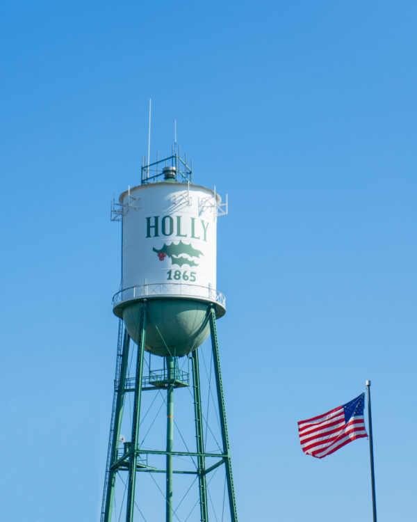 Holly Water Tower