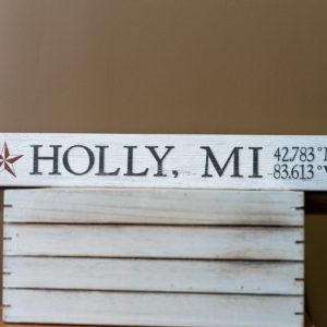 Holly, MI Sign